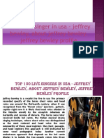 The biggest singer in usa - jeffrey bewley, about jeffrey bewley, jeffrey bewley profile