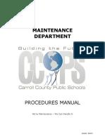 Facilities Maintenance Procedure Manual. Updated 030816.pdf