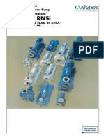 Standardised Chemical Pump Made From Metal Type RN