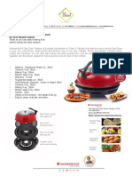 Wonderchef Gas Oven Tandoor DUO