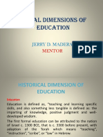 Social Dimension of Education