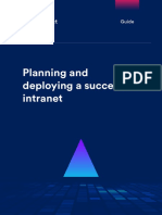Planning and Deploying a Successful Intranet Interact Software