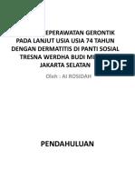 117993322 Asuhan Keperawatan Dermatitis Pada Lansia