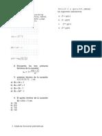 evaluación MATEM 11º