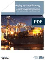 Developing an Export Strategy - VicGovernment