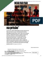 """""""Sempre que vejo um polícia na rua penso que devia ter trazido a minha escova de dentes porque se calhar vou acabar outra vez na prisão"""" _ Música _ PÚBLICO.pdf"""
