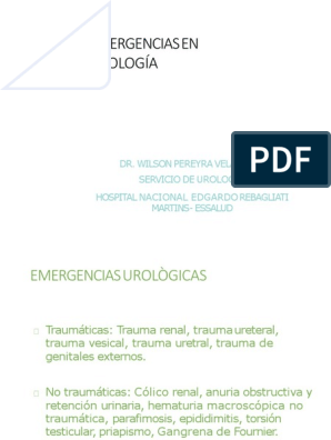 trauma uretral por sonda vesical pdf