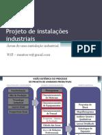 Áreas para o projeto de instalações industriais
