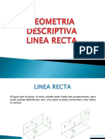Geometria Descriptiva - Linea Recta