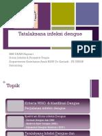 tatalaksana infeksi dengue  lengkap .ppt