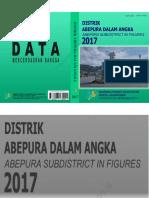 Kecamatan Abepura Dalam Angka 2017