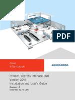 Prinect Prepress Interface