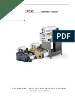 Thermal Laminator Manual F 360 650