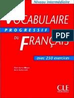 Vocabulaire Progressif Du Francais avec 250 exercices (French Edition).pdf