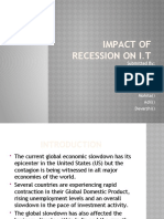 Impact of Recession on i