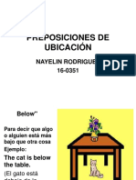 Preposiciones de Ubicación Exposicion Nayelin