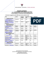 Harvard Valuation Notes and Text TM_FIN_CompValu1