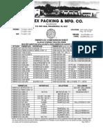 1. Fibreflex - Comparison Sheet June 11, 2014final