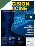 Precision Medicine the Swedish Industry Guide 2018 SwedenBIO