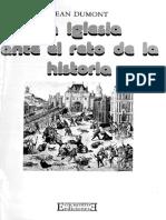 La Iglesia ante el reto de la historia - Jean Dumont