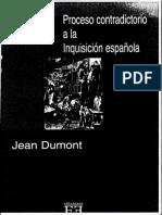 Proceso contradictorio a la Inquisición española - Jean Dumont