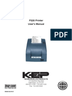 P220 Impact Receipt Printer Manual