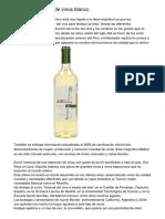 La verdad Acerca de vinos blanco