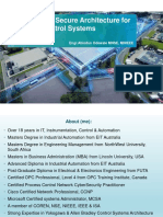 Implementing Secure Architecture for Industrial Control Syst