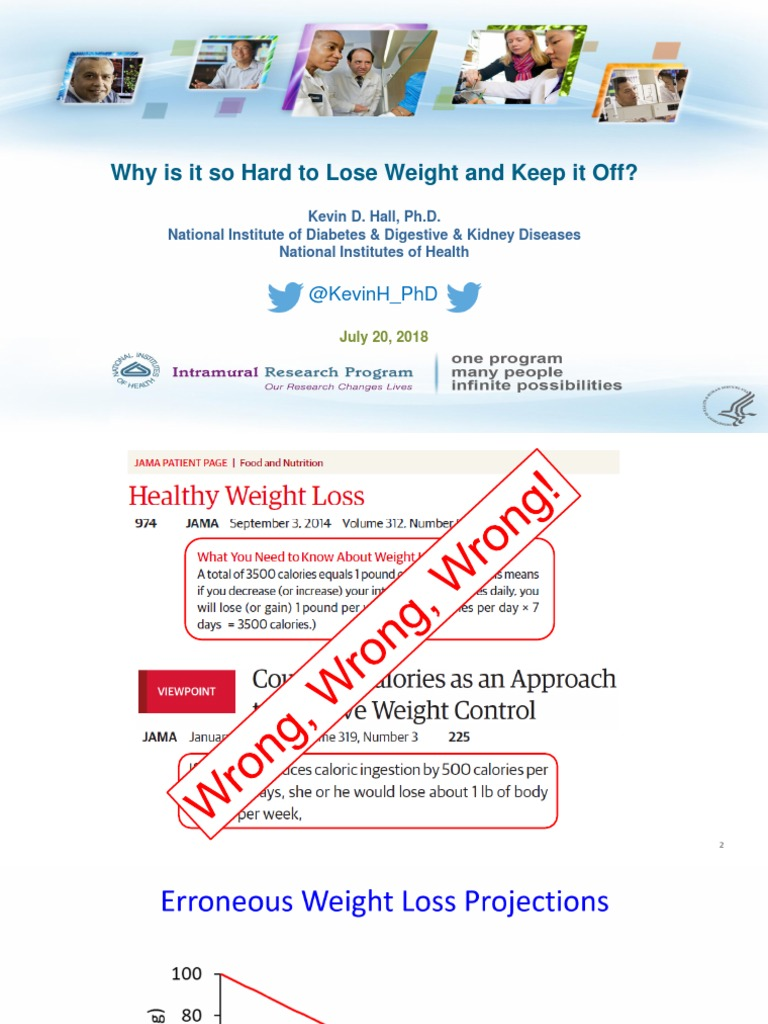 kevin hall pdf obesity weight loss