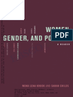 (Mona Lena Krook & Sarah Childs) Women, Gender, And Politics. a Reader