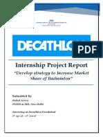 Decathlon Faridabad Project Report_Rahul Arora