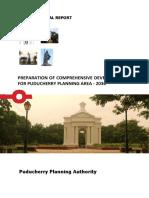 Draft Proposal Report-draft Cdp Puducherry