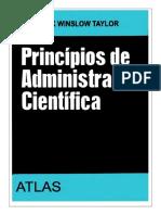 Princípios de Administração Científica - Frederick Winslow Taylor