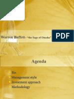 Warren Buffett - Group 8