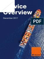 Hapag-Lloyd Service Overview