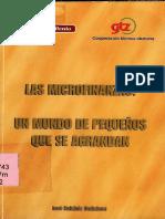 Microfinanzas - Un Mundo Pequeño Que Se Agranda