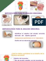 Metodología Para El Analisis Sensorial