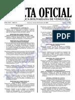 Gaceta-41362. ley de contrataciones publica
