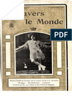 A Travers Le Monde - 1er Septembre 1913