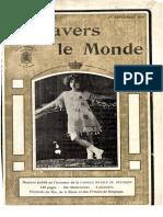 A Travers Le Monde - 1er Septembre 1913