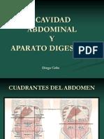 Cavidad Abdominal y Aparato Digestivo