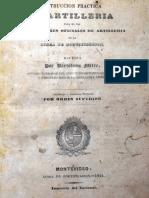 Instruccion Practica de Artilleria - Bartolome Mitre