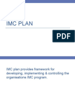 IMC Plan