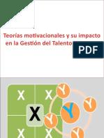 Teorías Motivacionales y Su Impacto en La Gestión
