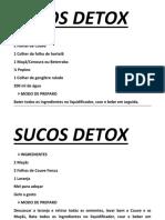 SUCOS DETOX12