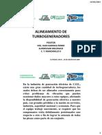 Alineamiento de Turbogeneradores 30-Agosto-2008