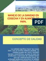 Manejo de La Sanidad en Cosecha y Almacen de Almacen Papa (2013)