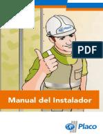 Manual Instalador de Placas de Yeso
