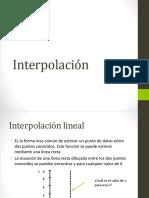 Interpolación
