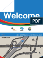 Barton Road Interchange Project Overview
